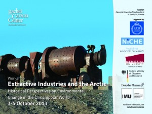 Exploring extractive industries in the Arctic: Poster: Rachel Carson Center