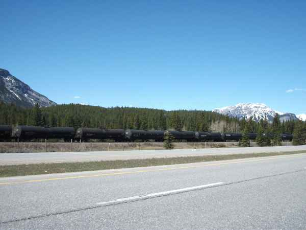 Along the Trans-Canada Highway