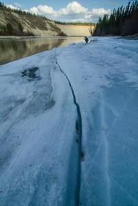crack in the ice - photographer