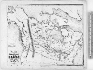 British North America, Presented to Subscribers of the Globe (1857)