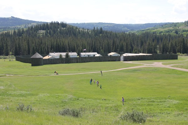 MacFadyen 2015 June 6, Summer Post-card for the Otter, Cypress Hills Fort Walsh