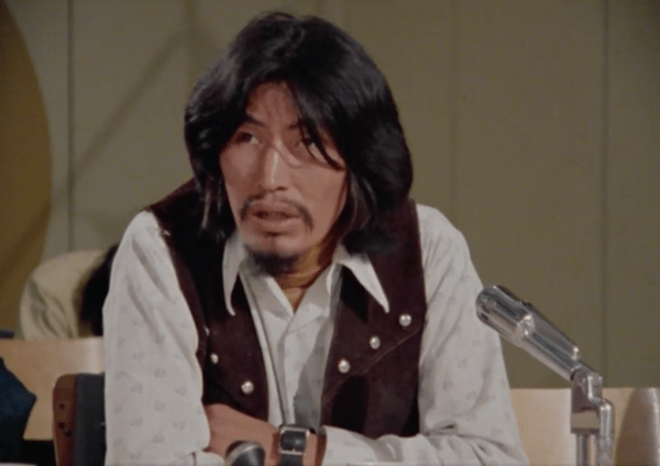 """Chief Frank T'Selei, in the NFB documentary """"Fort Good Hope"""" (dir. Ron Orieux, 1977)"""