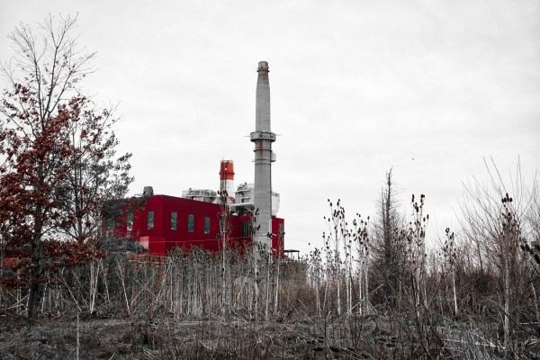 Sublime Ruination: the Crawford Generating Station. Photo by author.