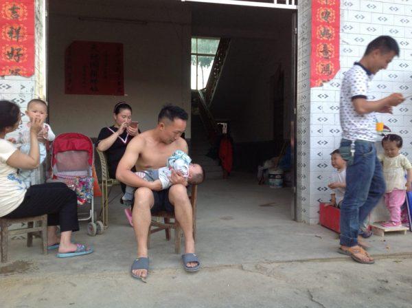 Lang Kou family, 2017