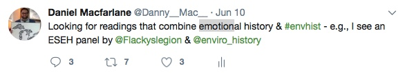 Twitter emotional history grab