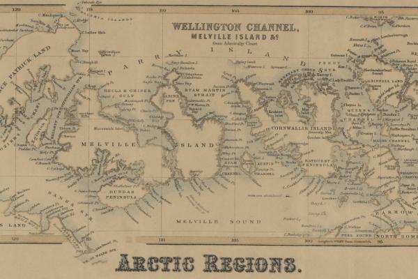 Map of Arctic Regions
