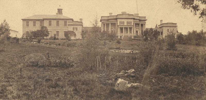 The Botanical Society of Canada's botanical garden at Queen's College, Kingston.