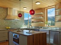 How Many Pendant Lights Should Be Used Over a Kitchen Island?