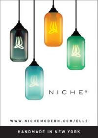 Colorful Glass Helio Pendant Lights in Elle Decoration UK