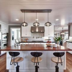 Kitchen Island Lighting Stools Pendant In A Cozy California Ranch