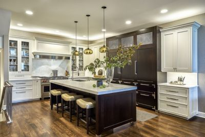 Handmade Kitchen Island Pendant Lights Add To Chicago Home's Charm