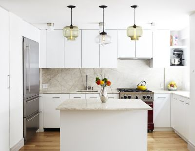 kitchen pendant easy backsplash 3 ways to style modern lighting oculo and minaret lights in greenwich village