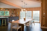 3 Kitchen Table Pendant Lighting Installations Embrace Mid ...