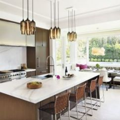 Modern Kitchen Light Redos Custom Lighting Canopy Options Make For A Unique Island Above In