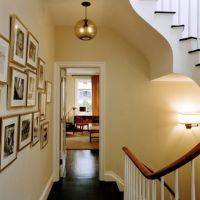 Hallway Pendant Lighting in New York's Upper West Side