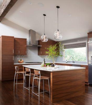 Modern Kitchen Island Pendant Lights Shine Bright in