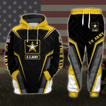 US Army VETERAN Design 3D Design Hoodie And Jogger Custom Hoodie All Over Printed