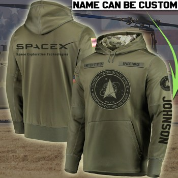 SpaceX Space Exploration Technologies Hoodie US Space Force Hoodie Camo shirt United States Space Force Flag,Custom Hoodie All Over Printed,3D Clothings