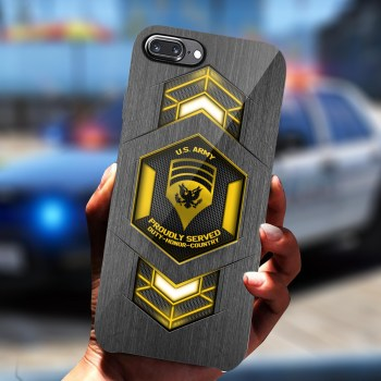 US Army Custom Phone Case For Military,Gifts For Veteran Phone Case-(8886)