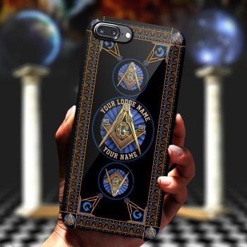 Freemason Phone Case, Custom Phone Case, Custom Lodge Name, Lodge Number, Your Name All Over Printed