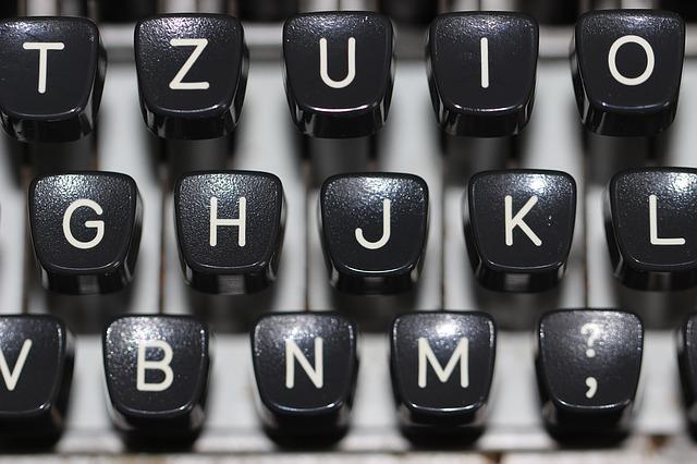 typewriter-1227357_640