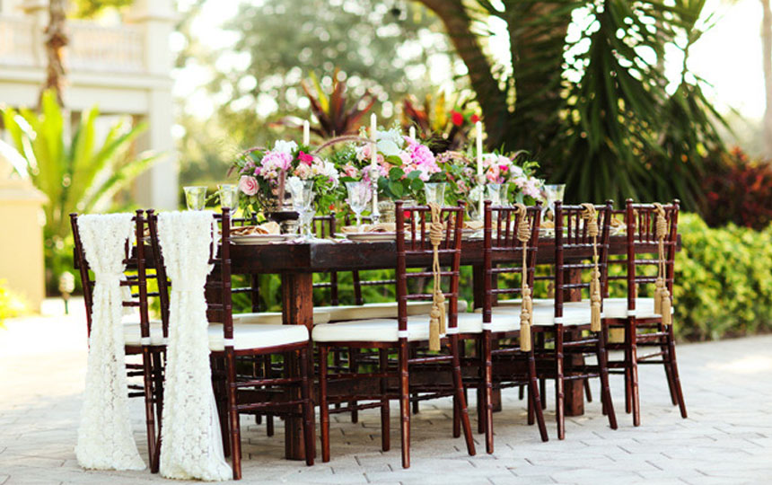 renting tables and chairs for wedding rod iron table party rental event furniture niche rentals