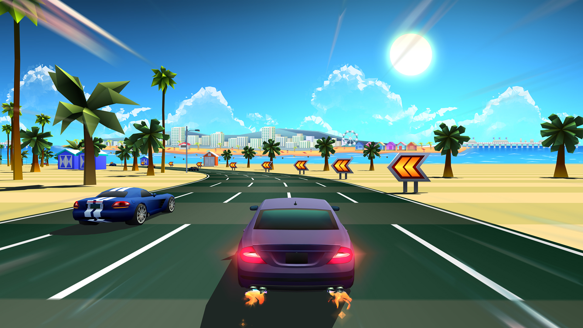 Horizon Chase Is Racing To PlayStation 4 Niche Gamer
