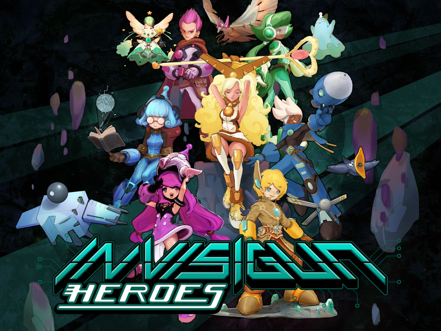 Invisigun Heroes Puts An Invisible Twist On Classic