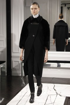 Fall 2013 He was always very aware of small details like the clasps on a coat or the buckles on a boot and used them to distinguish his minimalist designs for the house.