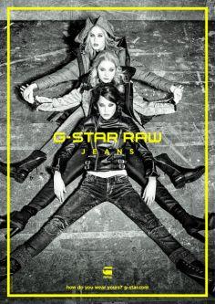 G-Star Raw Fall 2015 Campaign