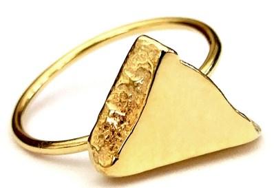 Katherine Seaman brass collar necklace