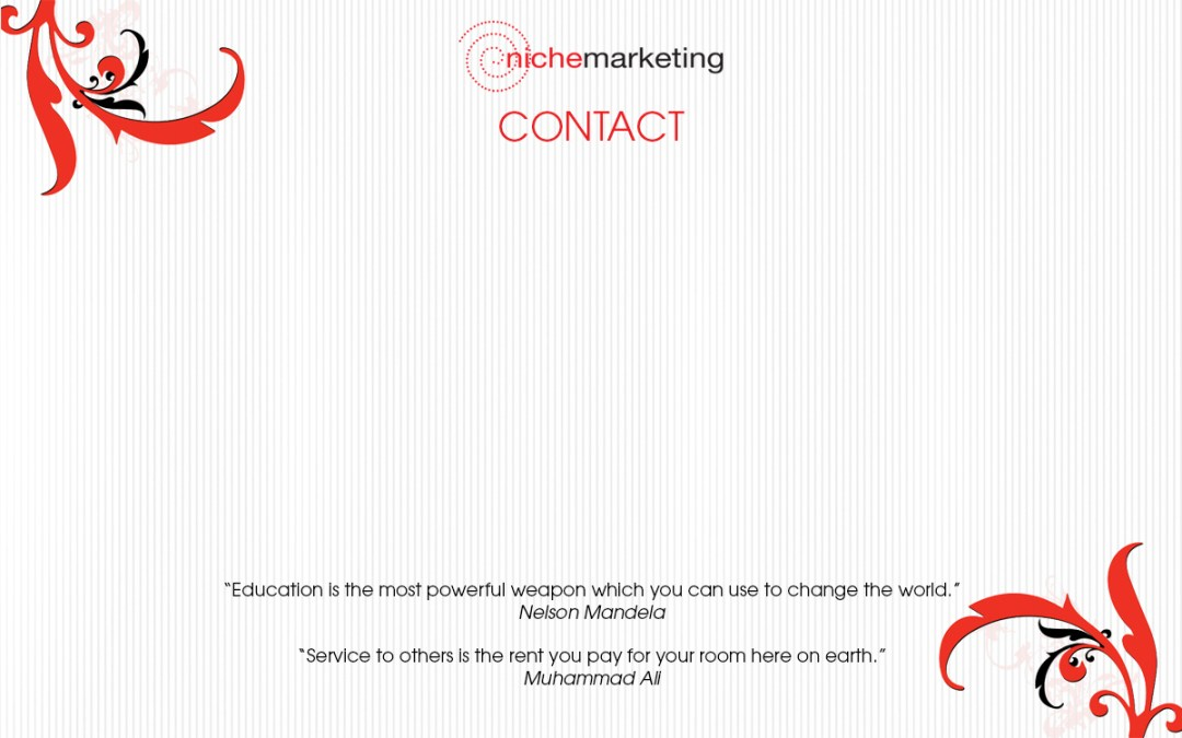 Niche Marketing 12