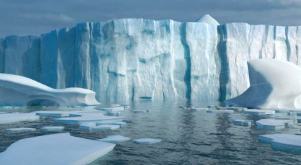 Antarctica Environment - Final Film Shot