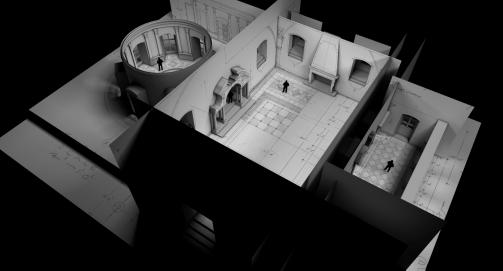 Int. Fortress 3D model