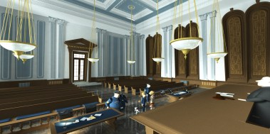 Interior NY courthouse - unused in movie
