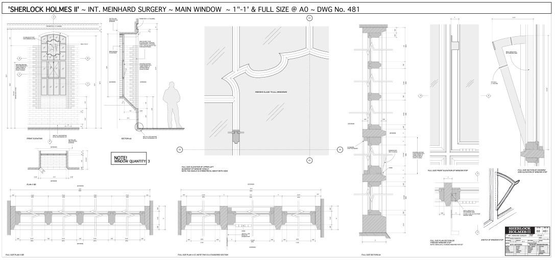 Interior Meinhard Surgery - Window Details