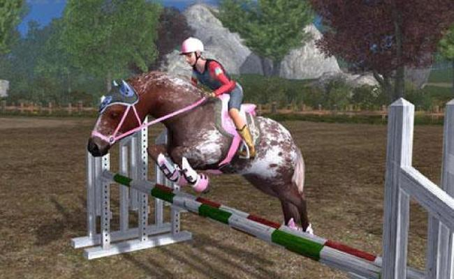 Showjumping In Planet Horse Play Horse Games Free