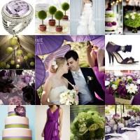 purple and green wedding | Niche White Bridal Loft