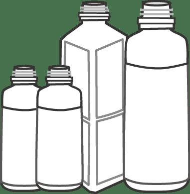 洗剤 容器の劣化→セリア 白スプレーボトルへ