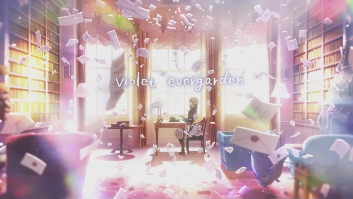 Late Fall Desktop Wallpaper Violet Evergarden Cm Afterthoughts Nichi Nichi Chan