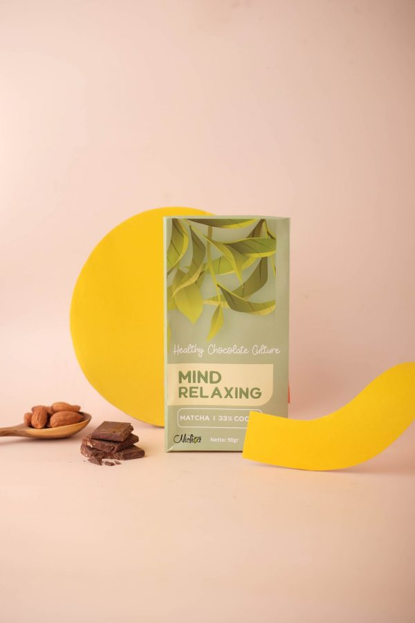 Nichoa Mind relaxing Chocolate Bar