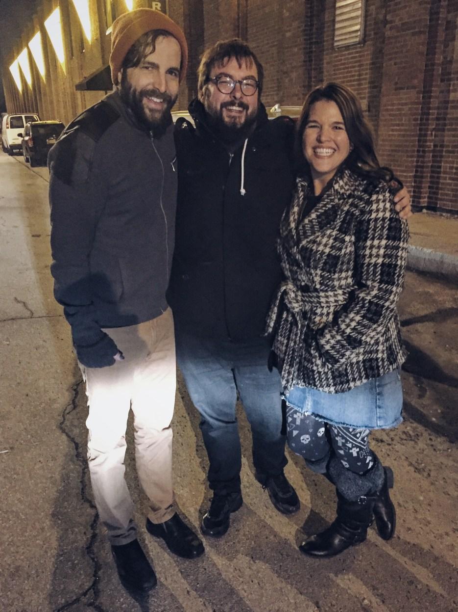 Chad, Drew, and Lesa