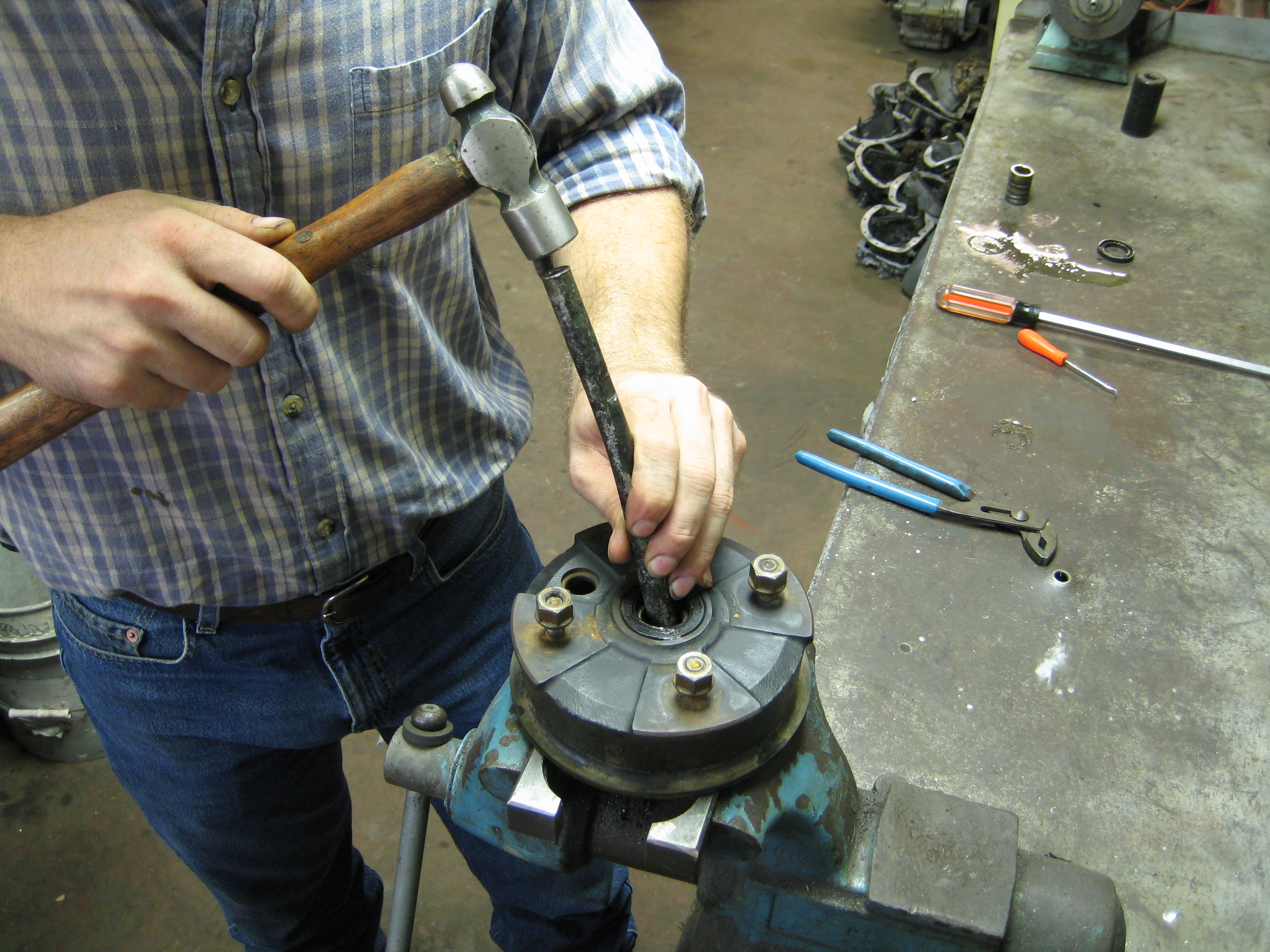 Removing the Bearing