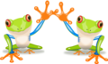 PngThumb-frog-waving-high-five-16233