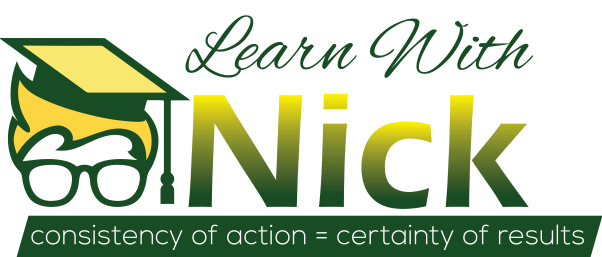 New Learn With Nick Logo