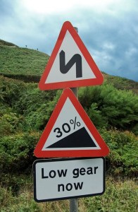 Too Steep a Gradient