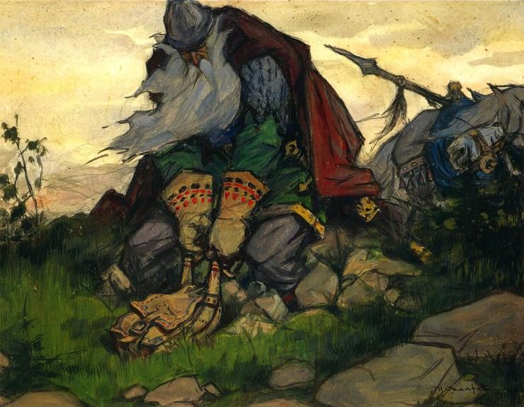 7 Superhero Warriors of Russian Tales