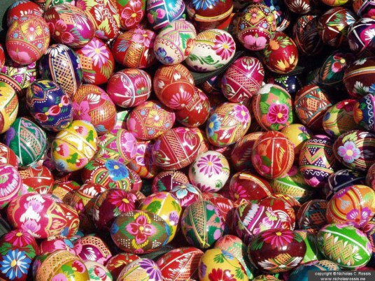 Easter eggs, Athens, Greece