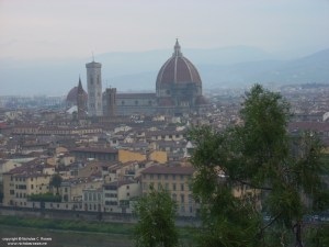 The Duomo, as seen from San Miniato, Florence, Italy