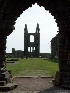 St Andrews Abbey, St. Andrews, Scotland, UK